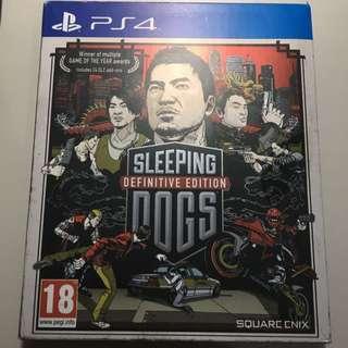 精裝版Sleeping Dogs (英版)ps4