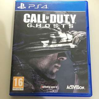 Call Of Duty Ghosts (英版)ps4