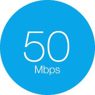 Fibe 50 High Speed Unlimited Internet