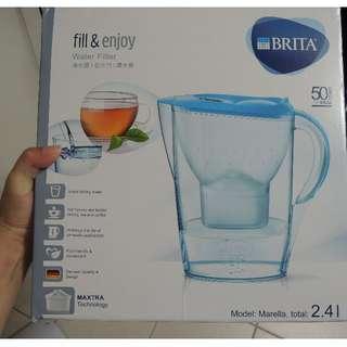 全新BRITA濾水壺2.4L