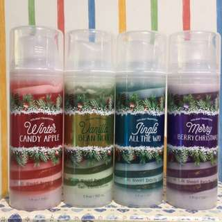 Bath&Body Works聖誕節限量香味亮粉乳液(150ml)