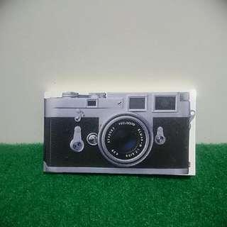 復古相機造型隨身筆記本