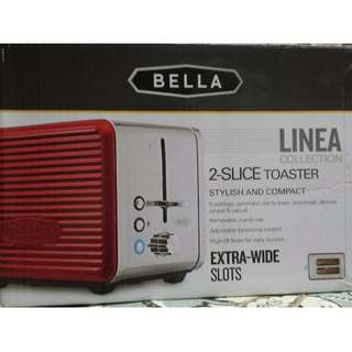 Bella Collection Linea 2 Slice Toaster