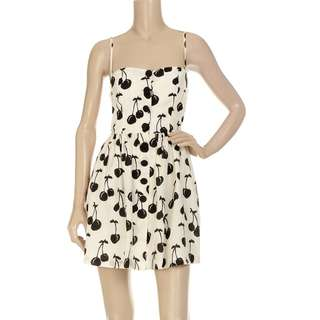 "Jill Stuart ""Lindsay Cherry Print Dress"" Size: 4 $70"