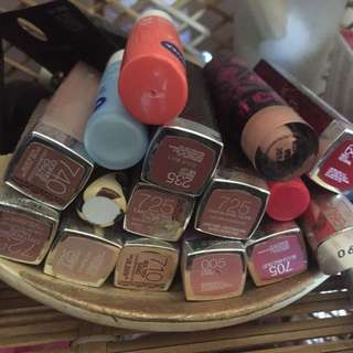 Lipsticks 10 Each