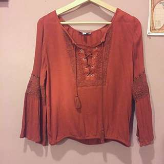 Dark Copper Festival Top