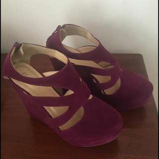 Rubi Purple Wedges