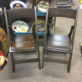 Vintage Foldable Chairs
