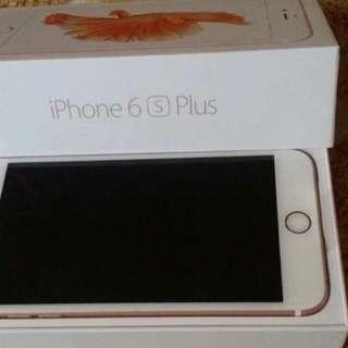 I Phon6s Plus 64g玫瑰金