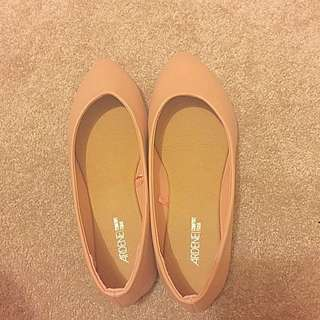 Blush Pink Flats from Ardene