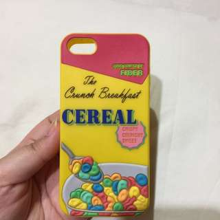 Cereal Silicon Case
