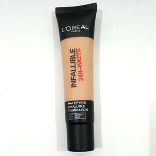L'OREAL PARIS Infallible Matte Foundation 35mL
