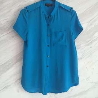 Hot Blue Shirt