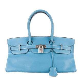 Blue Hermes Birkin