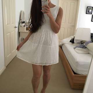 Simple White Kate Middleton Style Dress