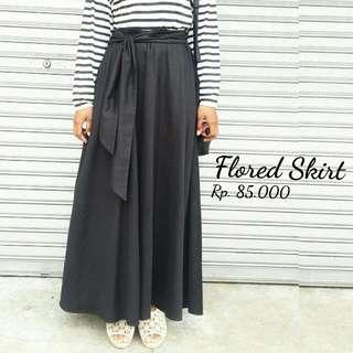 Flored skirt