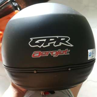 gpr helmet (matt black)