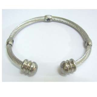 Stainless Steel Magnetic Bracelet Bangle Cuff