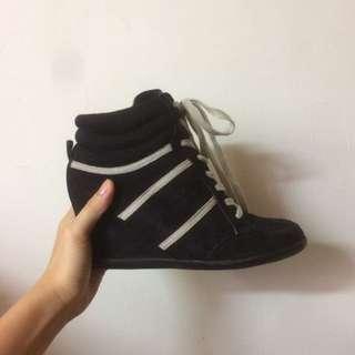 正品Cathy Jean 美國專櫃 高筒/高跟/休閒球鞋/休閒鞋