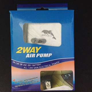 DIKE 3 Way Fishing Air Pump AP-2102 (on Vehicle, Use Dry Battery Or House Power Supply)