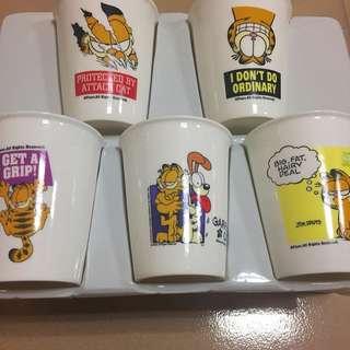 加菲貓 水杯組
