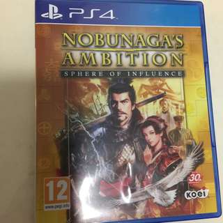 PS4 Nobunaga's ambition(Pending)