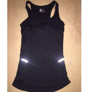 Black Size 8 Gym Top And Tights