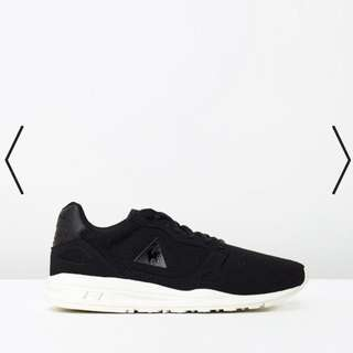 Le Coq Sportif Wool Mesh Shoes Black On White