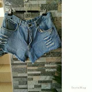 FREE SF🌟Large Denim Short