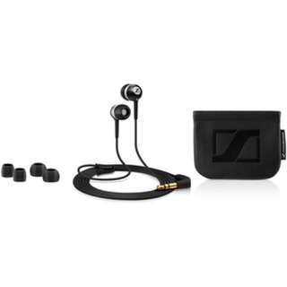 Sennheiser CX 300 II Precision Enhanced Bass Earbuds (Black)