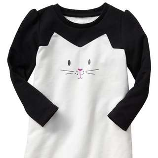 NEW Gap French Terry Bunny Dress