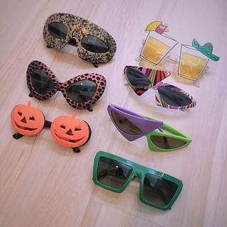 🎃派對🎃 節慶生日跨年 感恩節 萬聖節 聖誕節 Party 活動 變裝 走秀 派對造型眼鏡南瓜眼鏡