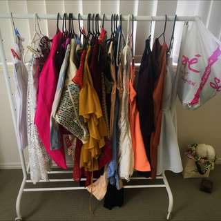 Mixed Clothes New And Used