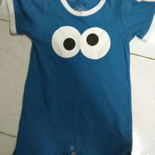 Cookie Monster Romper