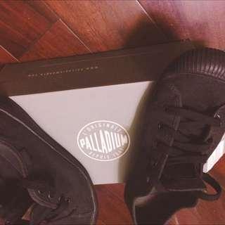 Palladium貝殼鞋/帆布 Black黑