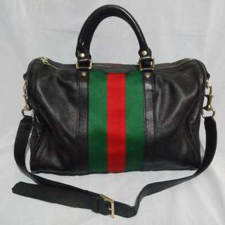 Gucci Leather Bag Black