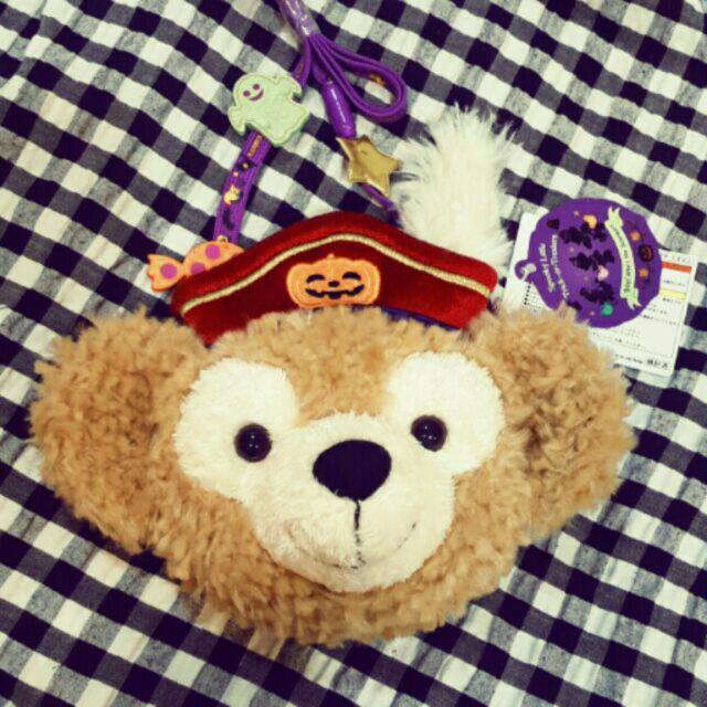[現貨]2016 日本東京迪士尼帶回♡限量 萬聖節 達菲 票卡包