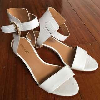 White Sandal By Nine West