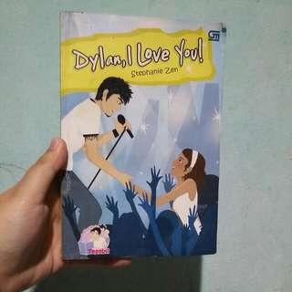 Novel Preloved (Dylan, I Love You!)