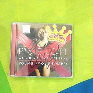 Autographed Pixie Lott Album