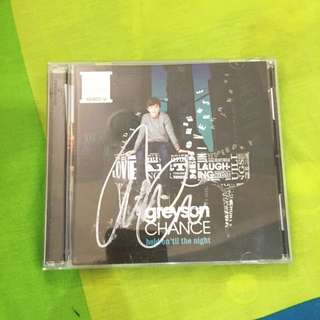Autographed Grayson Chance Album