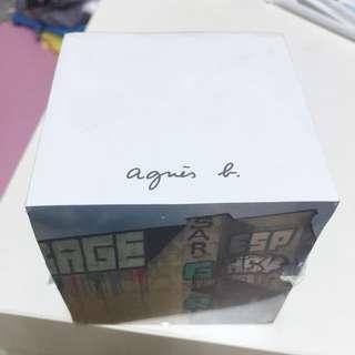<含運>agnes b.便條紙