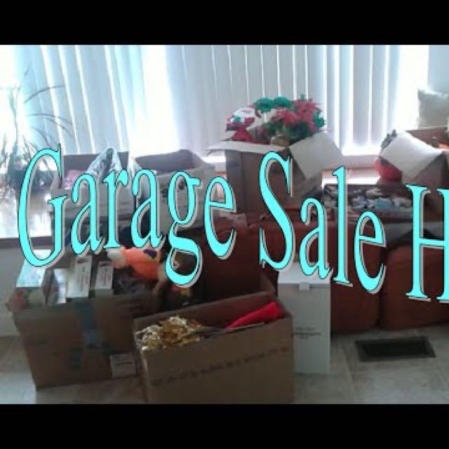 22/23 October Garage Sale Christmas & Halloween