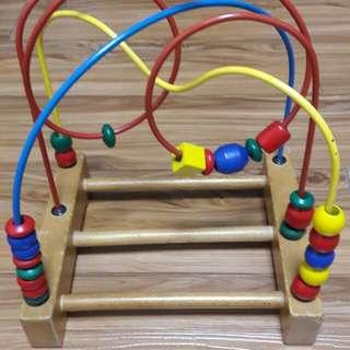 嬰幼兒童玩具 珠串台