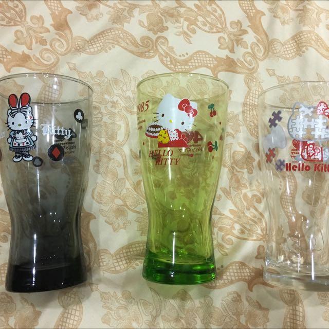 7-11Hello Kitty玻璃杯馬克杯