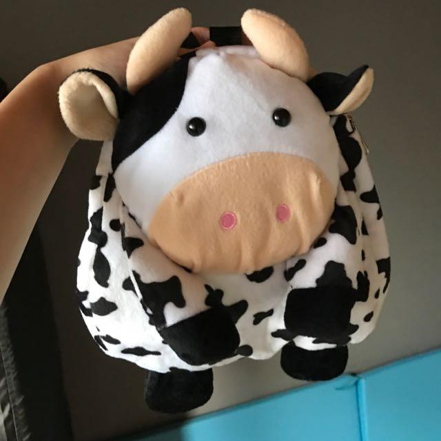全新寶寶乳牛後背包