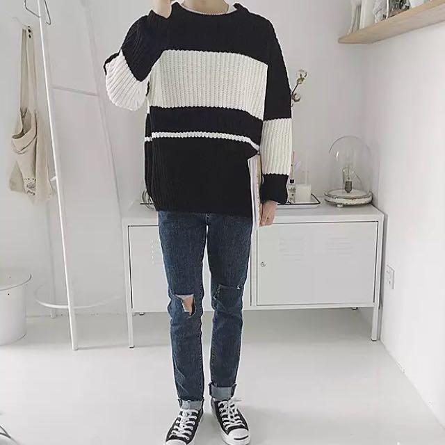 韓國簡約毛衣