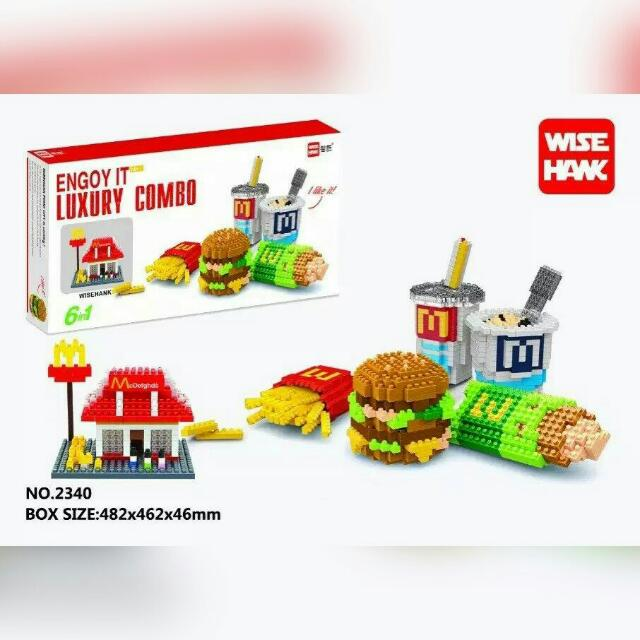 🛠 Collectable Mac Nanoblocks! 🔧6-in-1 Luxury Combo! 1600 Pieces! ❤