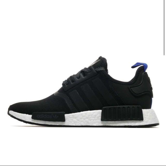 Adidas Originals NMD_R1 Black - Size 9.5