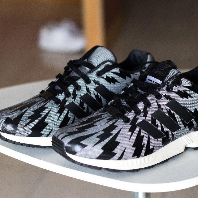 sale retailer bb7fd cf565 Adidas Originals x Italia Independent, Black Chalk Denim ZX ...